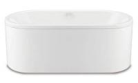 Ванна KALDEWEI CENTRO DUO OVAL + панель 180x80 mod 128-7